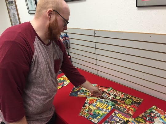 Rupp's Comics General Manager Adam Schiewe shares some highlights of a recent collection purchased by the store. Some of those books include key books like Incredible Hulk #181, the first appearance of popular X-Men character Wolverine.