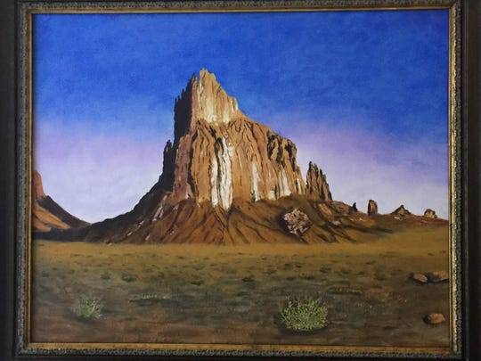 Oil paintings by Lupe Martinez will be featured in a new exhibition opening at Aztec's Feat of Clay.