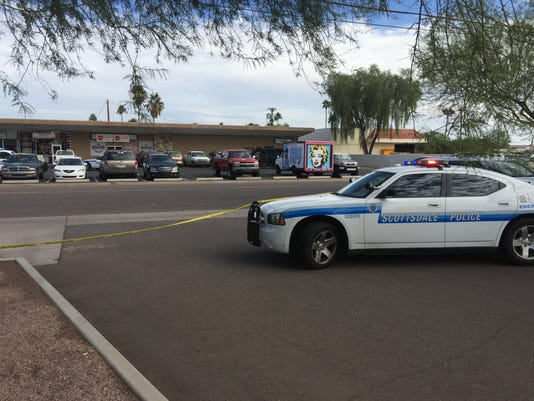 Scottsdale police outside Playa Bar