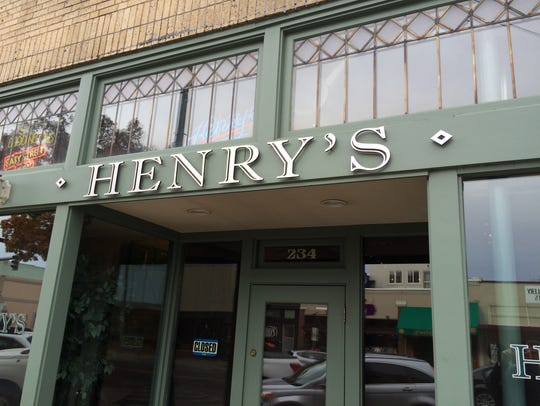 Henry's Pub is located in downtown Loveland.