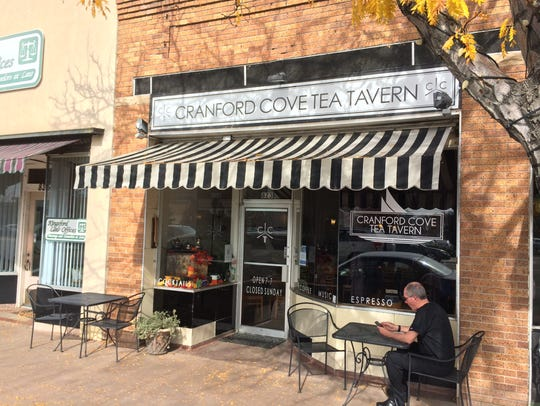 Cranford Cove Tea Tavern in downtown Greeley is one