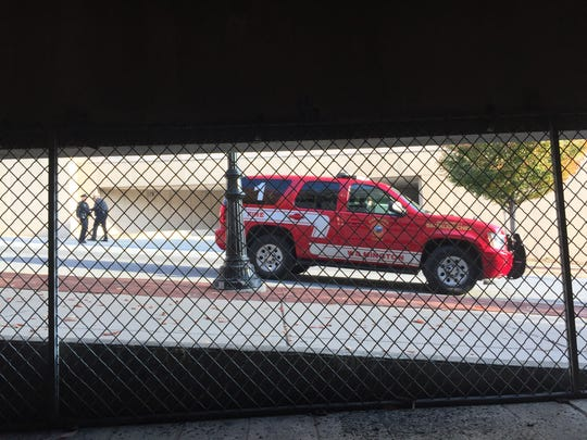Emergency responders were on the scene of a suspicious package investigation this morning in Wilmington.