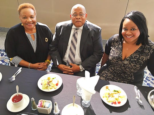 Save the date  Lu Porter, the Rev. Gerald Arnold and Shelby Coates were choosing the menu at Old National Events Plaza for the upcoming 37th Annual NAACP Freedom Fund Banquet to be held on Nov. 9. Looks tasty!