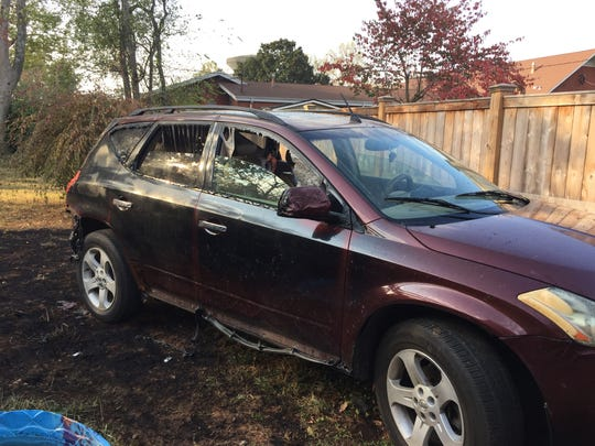 An early morning fire in the 600 block of Sunset Avenue destroyed the home as well as the resident's automobile, which was parked behind the home.