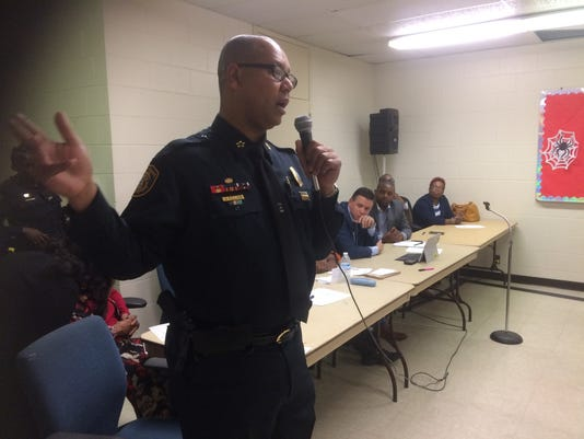 Memphis Police Director Michael Rallings addresses concerns