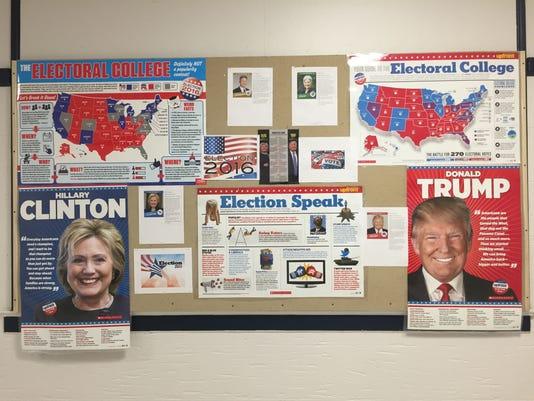 Dunellen High School mock election