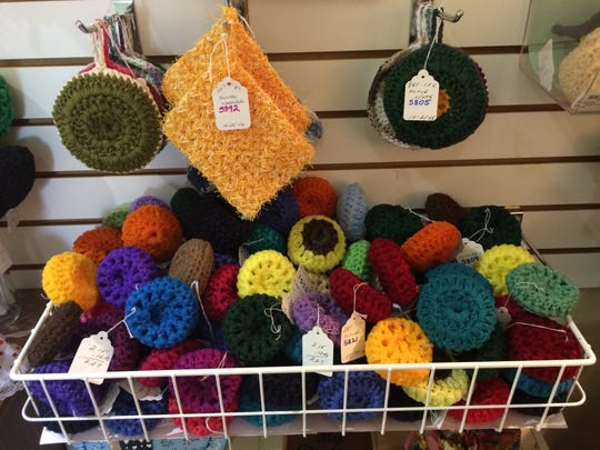The Holly Shoppe, marking its 45th anniversary in 2016, sells a variety of items made by Portage County residents 55 years old and up along with adults with disabilities.