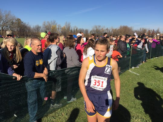 Anna Donnay of the Eden Valley-Watkins/Kimball girls