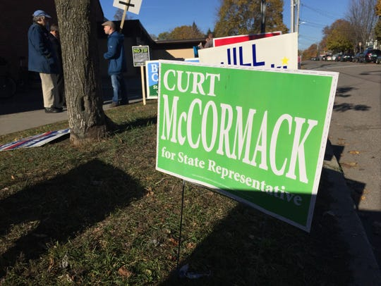 Curt McCormack and Jill Krowinski are running unopposed