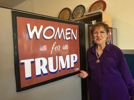 Carmel resident Loretta Davi is phone banking for GOP presidential nominee Donald Trump