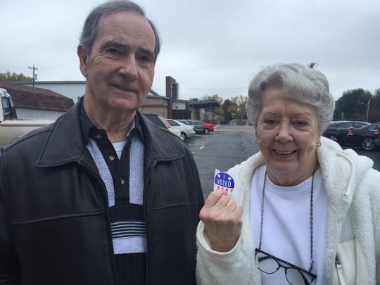 Bill and Phyllis Barclay say the presidential race is the most important in the 2016 general election.