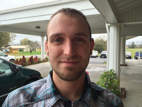 Strafford resident Ryan Lynge planned to vote for Hillary Clinton.