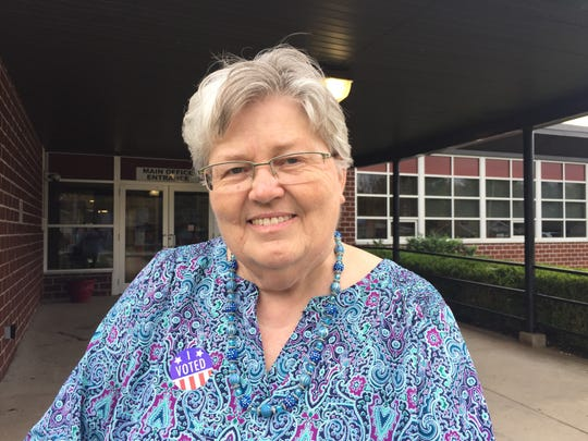 Sweden-born Kerstin Lundquist voted in the 2016 general election.