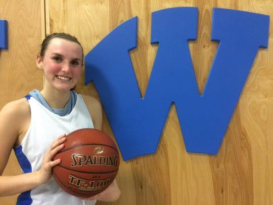 Danielle Nennig has been an all-conference performer in volleyball, basketball and softball for Wrightstown.