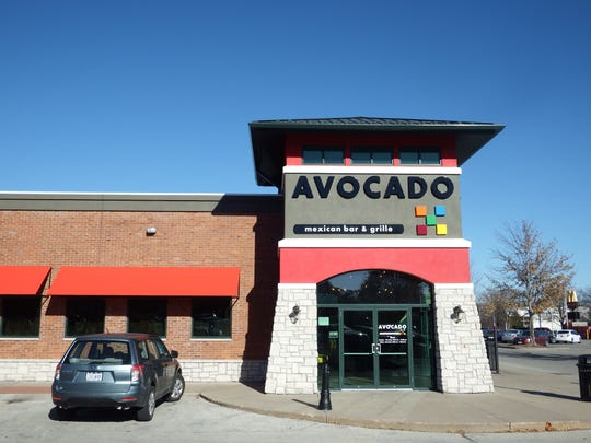 Avocado Mexican Bar and Grille in the Iowa City Marketplace on Nov. 10 in Iowa City.