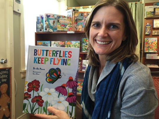 "Author Ali Pfautz and ""Butterflies Keep Flying"""