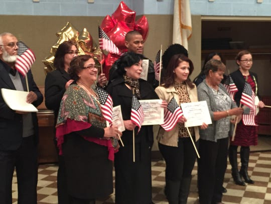 The York County Literacy Council honored new citizens