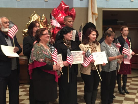 The York County Literacy Council honored new citizens who studied English as a second language during the council's 40th anniversary celebration on Tuesday.