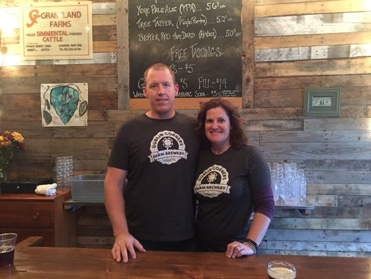 Justin and Heather Grant, owners of Livingston County's