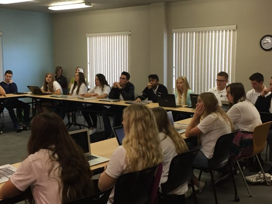The 2016 Leadership Academy class meets Tuesday in St. George.