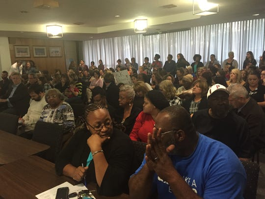 Rapides school employees packed Tuesday's school board meeting to plead for yearly stipends they have received from the district for several years.