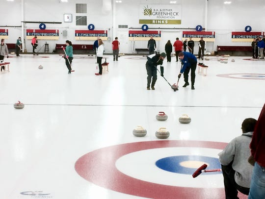 Wausau Curling Club's leagues combine fun with weight