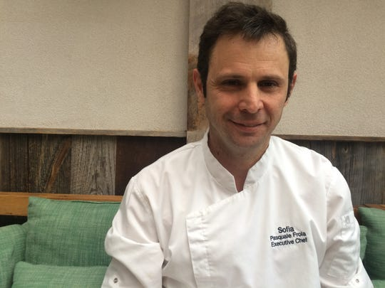 Chef Pasquale Frola of Sofia restaurant in Englewood