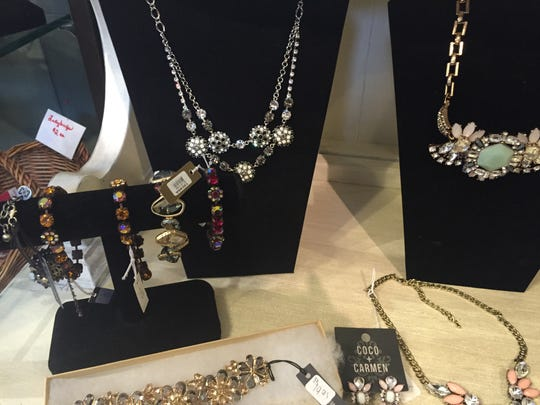 Collection of jewelry at half off at Red Bird in Brockport