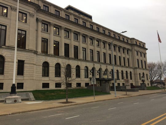 The new courthouse would replace the existing federal courthouse at 123 E. Walnut St.
