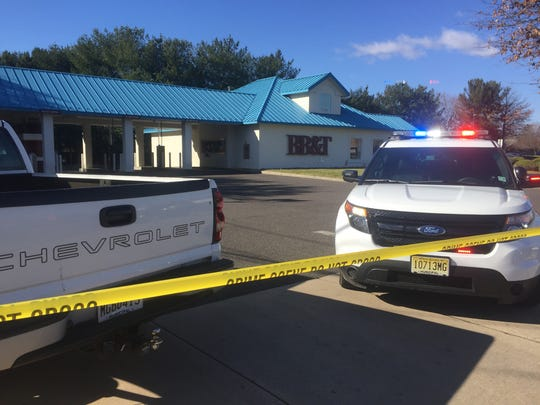 Vineland Police investigate an armed robbery Tuesday morning at BB&T at Delsea Drive and Garden Road.