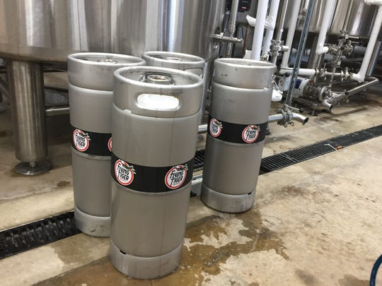 About 70 percent of the beer produced for Flying Tiger