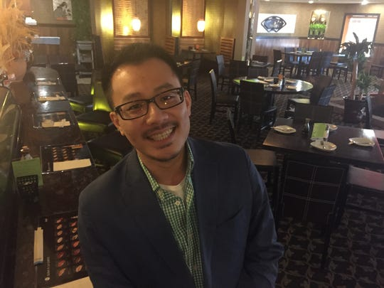 Kevin Sun, who grew up in the restaurant business, at the new Ichiban.