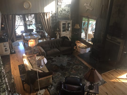 Orsini's home is filled with repurposed antiques