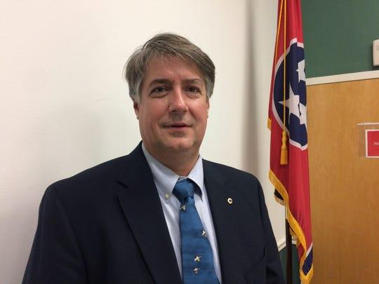 Newly sworn in Mayor Glen Guyor of Coopertown.