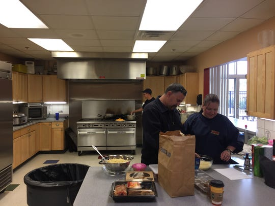 Salisbury firefighters cooking for Thanksgiving
