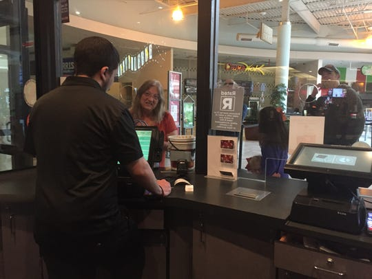 Carmike 10 manager Bryant believes the number of movie-goers