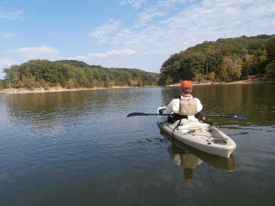 The Hoosier National Forest offers opportunities to kayak and canoe.