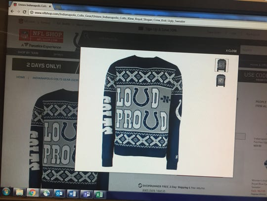 Another classy sweater option.