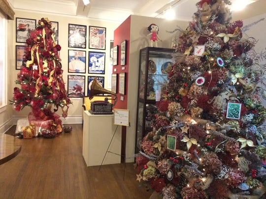 The UW Extension-Wood County Master Gardener volunteers and Yard and Garden Club decorated Christmas trees at the South Wood County Historical Museum in Wisconsin Rapids.