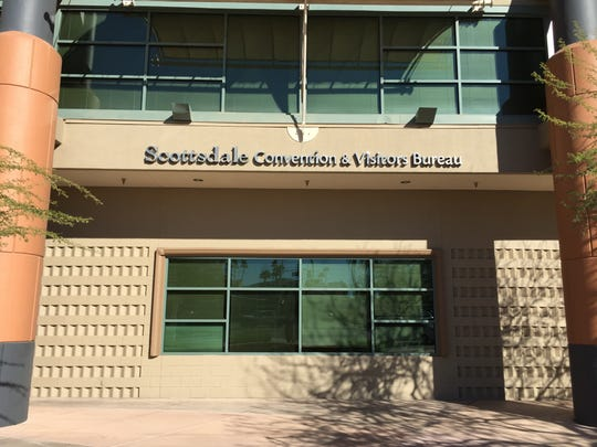 Experience Scottsdale CEO Rachel Sacco earned$350,000, plus acompany car and $102,000 in bonus pay in 2017.