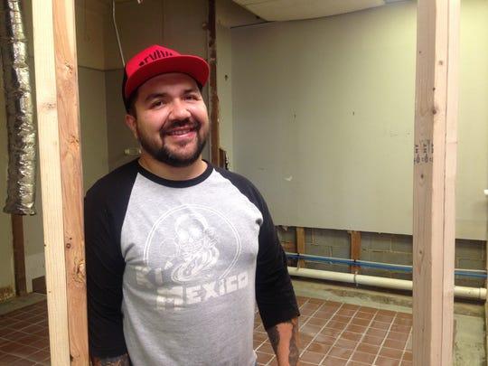 Rodrigo Mondragon, co-owner of Ki' Mexico, gives tour