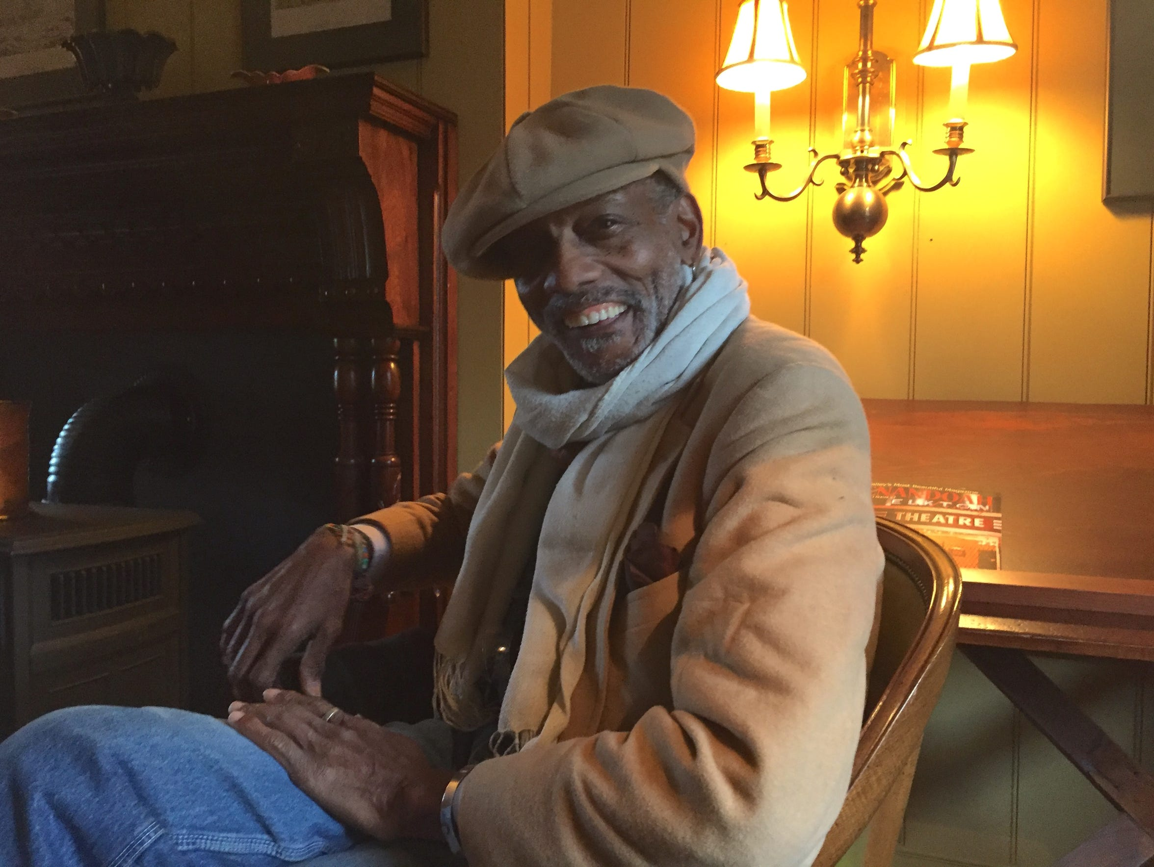 Staunton native Larry Vickers talks about working on