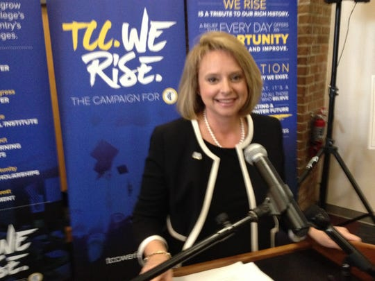 Heather Mitchell, executive director of the TCC Foundation.