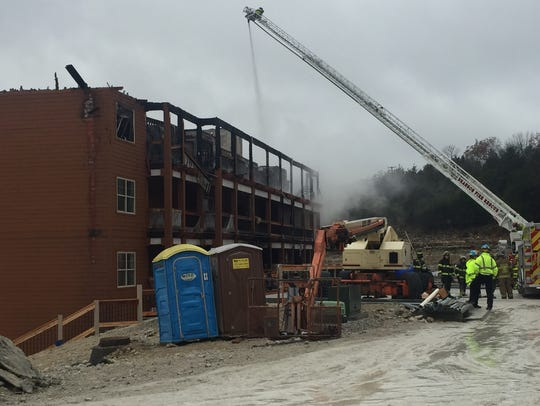 Crews responded to a fire Sunday morning at the Welk