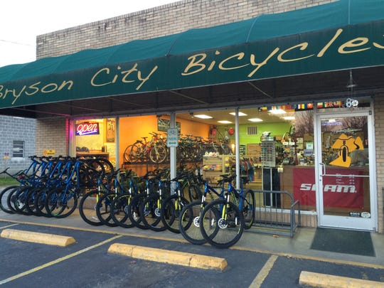 Bryson City Bicycles was one of five winners of a $20,000 check from Synchrony Financial to recognize the important contributions and sacrifices that small businesses make to make their local communities better.