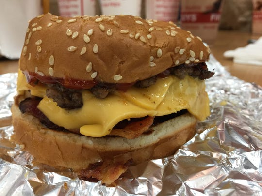 Five Guys boasts on its website that diners can order a burger more than 250,000 different ways. Thankfully, the restaurant that shares a parking lot with Kohl's at 455 S. 64th Street is always busy, so you have time to eat peanuts and decide in line.