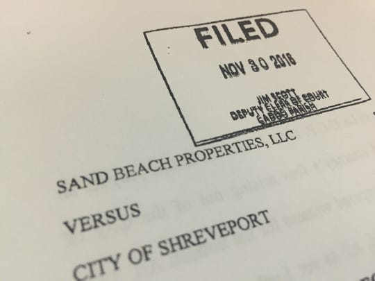 Recent litigation against the City of Shreveport related to a water billing error.