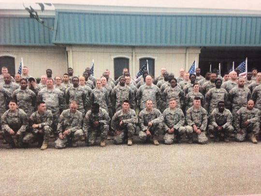 Gardner's unit is stationed in Kuwait during the holidays.