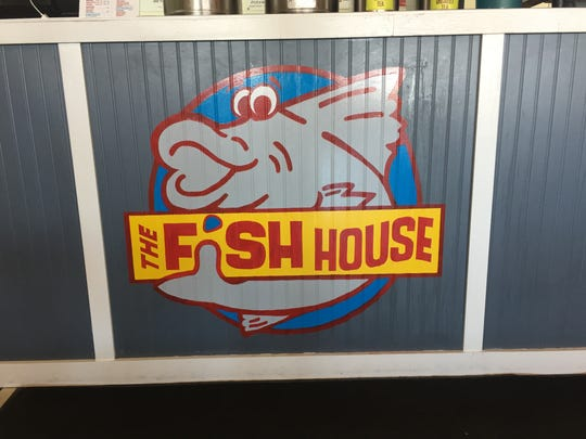The Fish House is known for its 1-pound catfish sandwich.