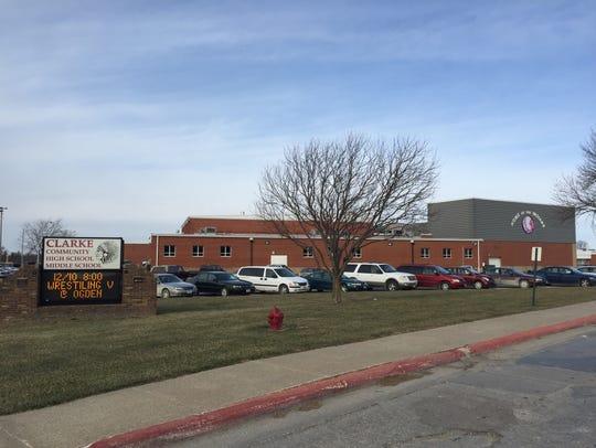 The Clarke Community High School in Osceola on Dec.